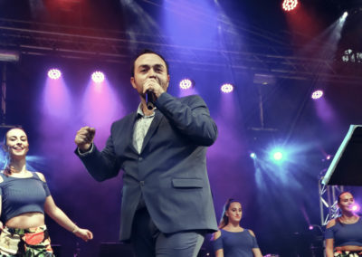 David Durán cantante de Santander
